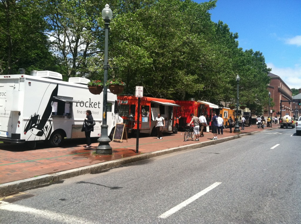 Food Truck Parking In Providence