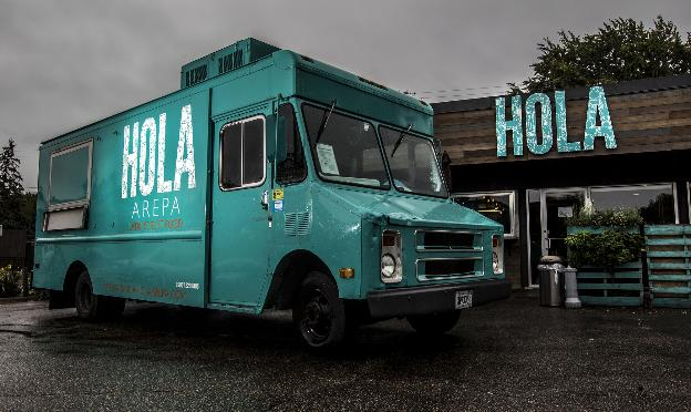 Hola Arepa Food Truck Catering