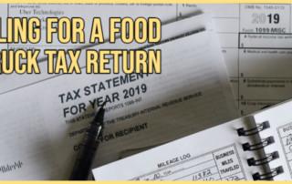 food truck tax return