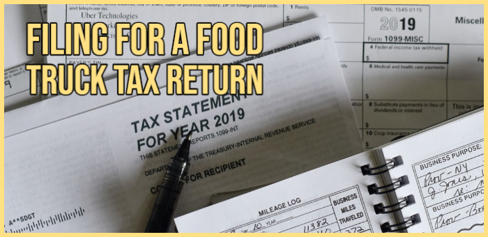food truck tax return