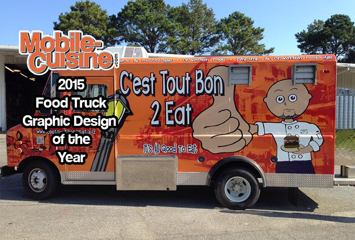C 39 est tout bon 2 eat 2015 graphic design of the year for Design your food truck