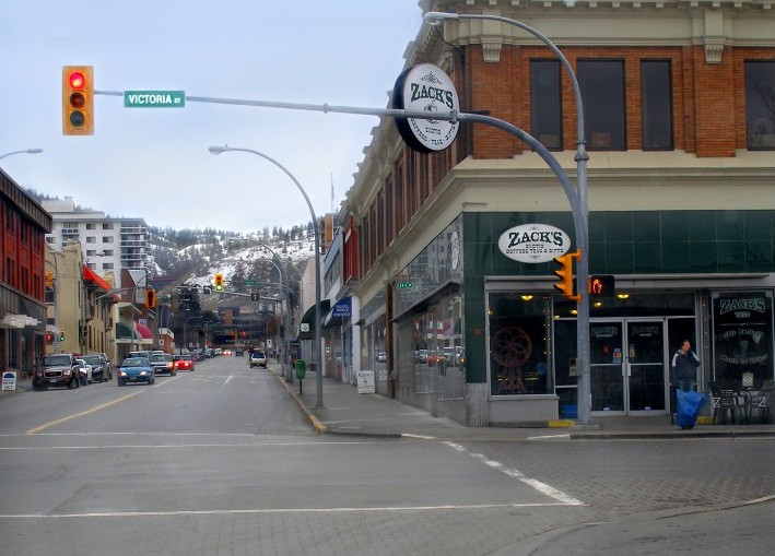 Kamloops downtown