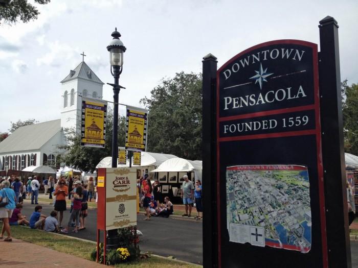 Pensacola Food Trucks Downtown