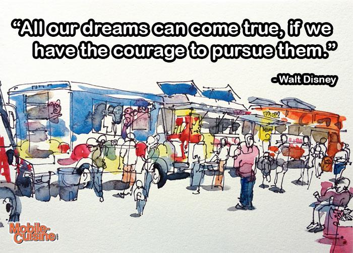 walt disney dream quote mobile cuisine