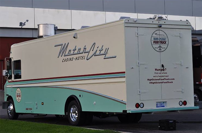Chip Foose Involved In Design Of Motorcity Casino Food Truck