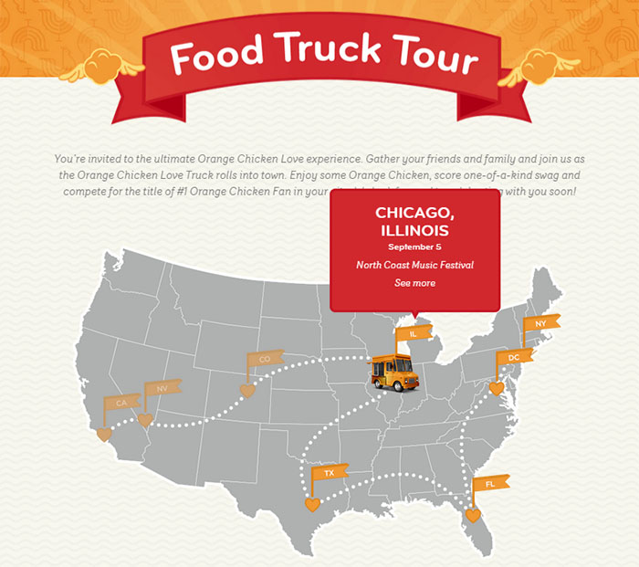 Panda Express Launches Nationwide Food Truck Tour