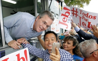 jeb bush food truck
