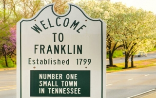 franklin tn sign