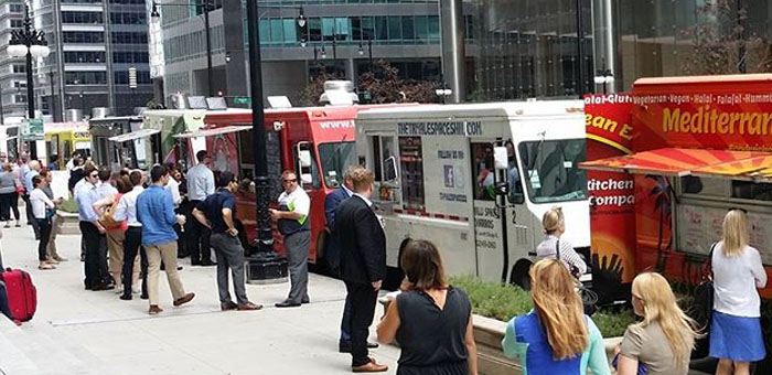 Chicago Loop Food Trucks