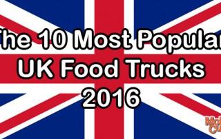 Popular UK Food Trucks 2016