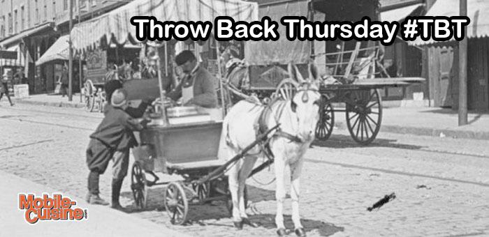 TBT Ice Cream Cart 1910