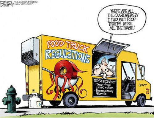 Food Truck Red Tape [CARTOON]