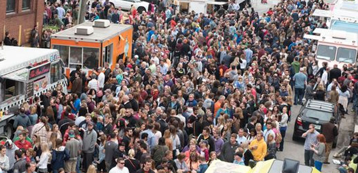 Des Moines Food Trucks Downtown  May