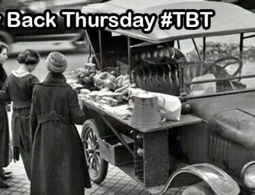 1910 Pastry Truck | Food Truck Throw Back Thursday