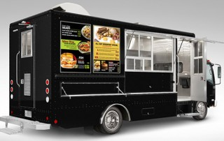 food truck menu design