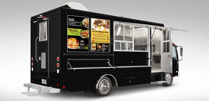 Food truck menu design tips to get off to a great start for Food truck layout plans