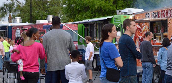 Jacksonville fl food truck event