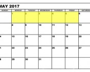 May 1-5 2017 upcoming food holidays