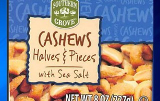 Southern Grove Cashew Recall