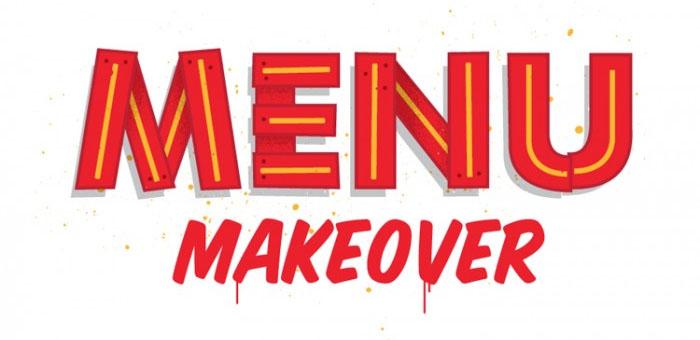 menu makeover