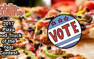 2017 Pizza Food Truck