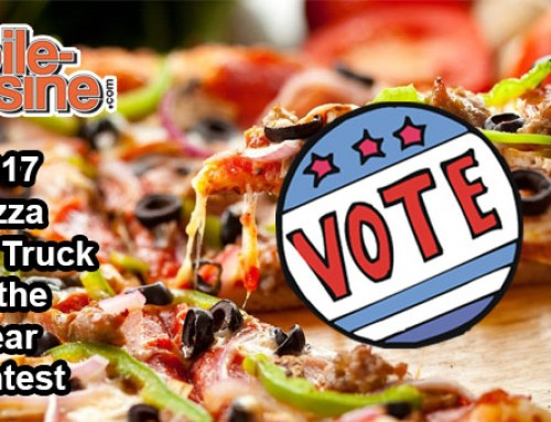 Vote Now! 2017 Pizza Food Truck Of The Year