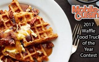 2017 Waffle Food Truck