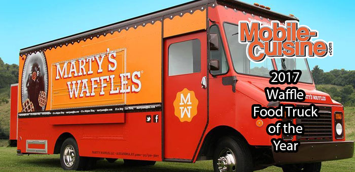Martys Waffles 2017 Waffle Food Truck Of The Year Mobile Cuisine