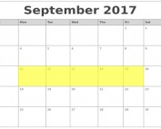 Sept 11-15 2017 Food Holidays