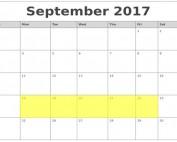 Sept 18-22 2017 Food Holidays
