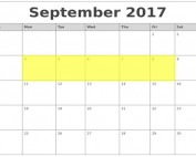 Sept 4-8 2017 Food Holidays