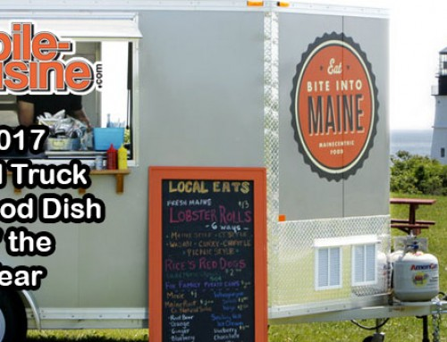 Bite Into Maine: 2017 Food Truck Seafood Dish Of The Year