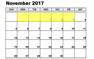 Nov 30-03 2017 Food Holidays