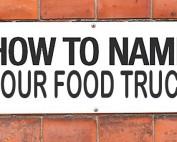food truck name