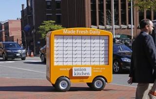 mobile food kiosk
