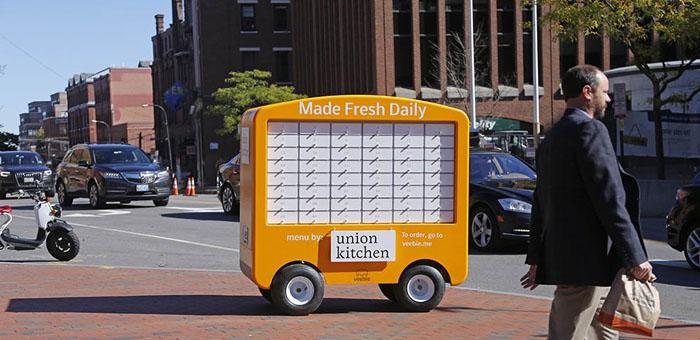 Portland consumers introduced to mobile food kiosk for Mobili kios