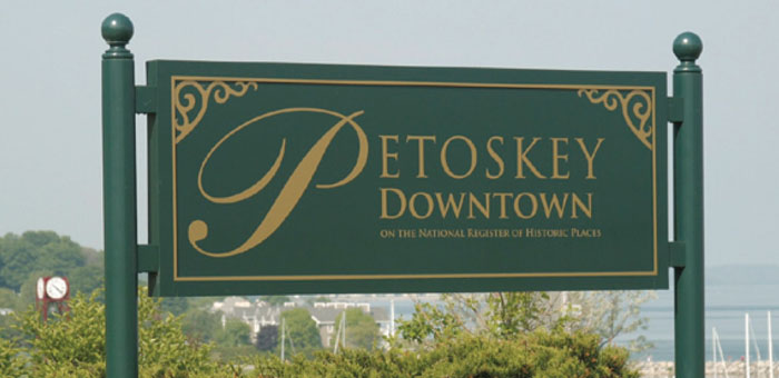 petosky mi sign