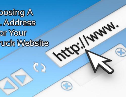 Choosing A URL Address For Your Food Truck Website