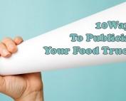 publicize your food truck