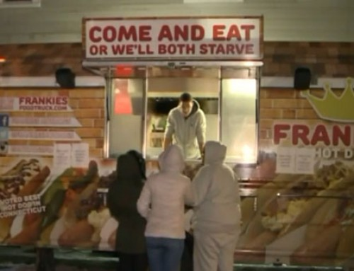 Connecticut Man Rents Food Truck To Feed The Homeless