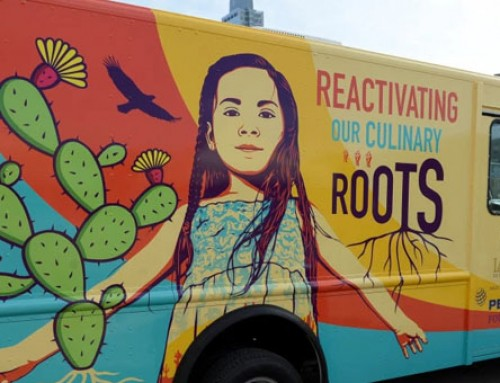 Los Angeles Food Truck Focuses On Healthy Food Education