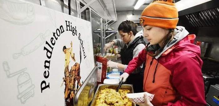 pendleton hs food truck