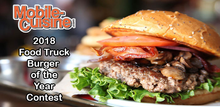 2018 Food Truck Burger Of The Year Contest