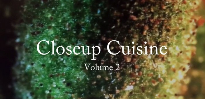 Closeup Cuisine - Volume 2