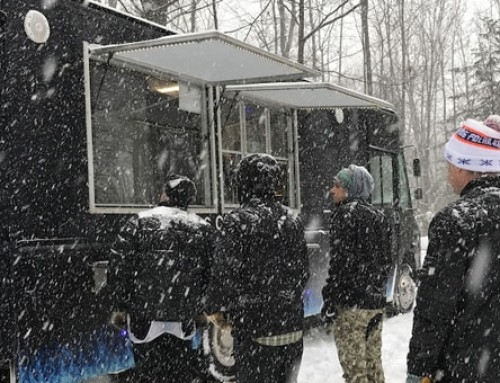Keep Your Customers Warm While They Stand In Line At Your Food Truck