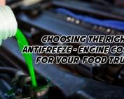 food truck antifreeze