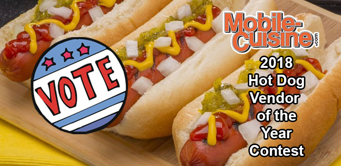 2018 hot dog vendor of the year