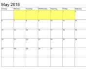 Apr 30-4 2018 Food Holidays