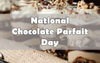 national chocolate parfait day
