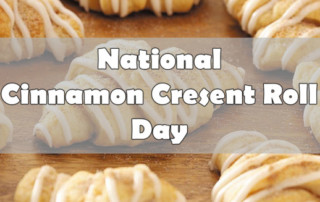 national cinnamon crescent roll day